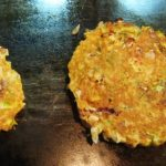 Tortitas de papa con atún