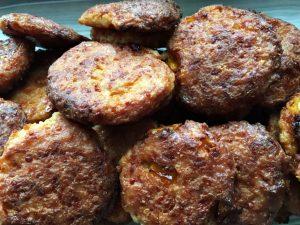 tortitas de papa con carne molida